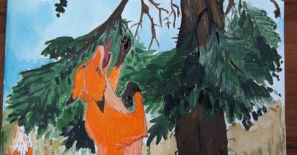 Инсценировка басни И.А.Крылова «Ворона и лисица»