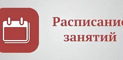 Расписание дистанционного обучения на 20.11.20 (пятница)