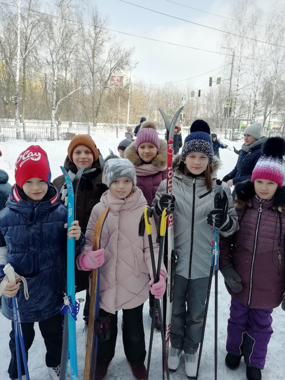 Всероссийский лыжный забег в рамках акции «Добрая суббота»