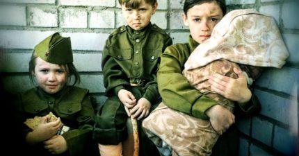 Конкурс фотографий «Война глазами детей»