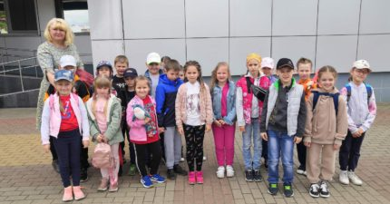 Открытие школьного лагеря